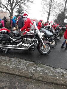 Mikołaje na motocyklach :)